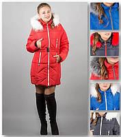 Зимняя женская куртка с мехом, фото 1