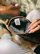 "Зимние ботинки на меху Clarks Urban Tribe Desert Boot ""Brown"" (Коричневые), фото 3"