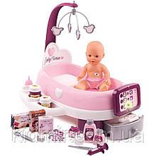 Ігровий центр по догляду за лялькою з пупсом Baby Nurse Smoby 220347