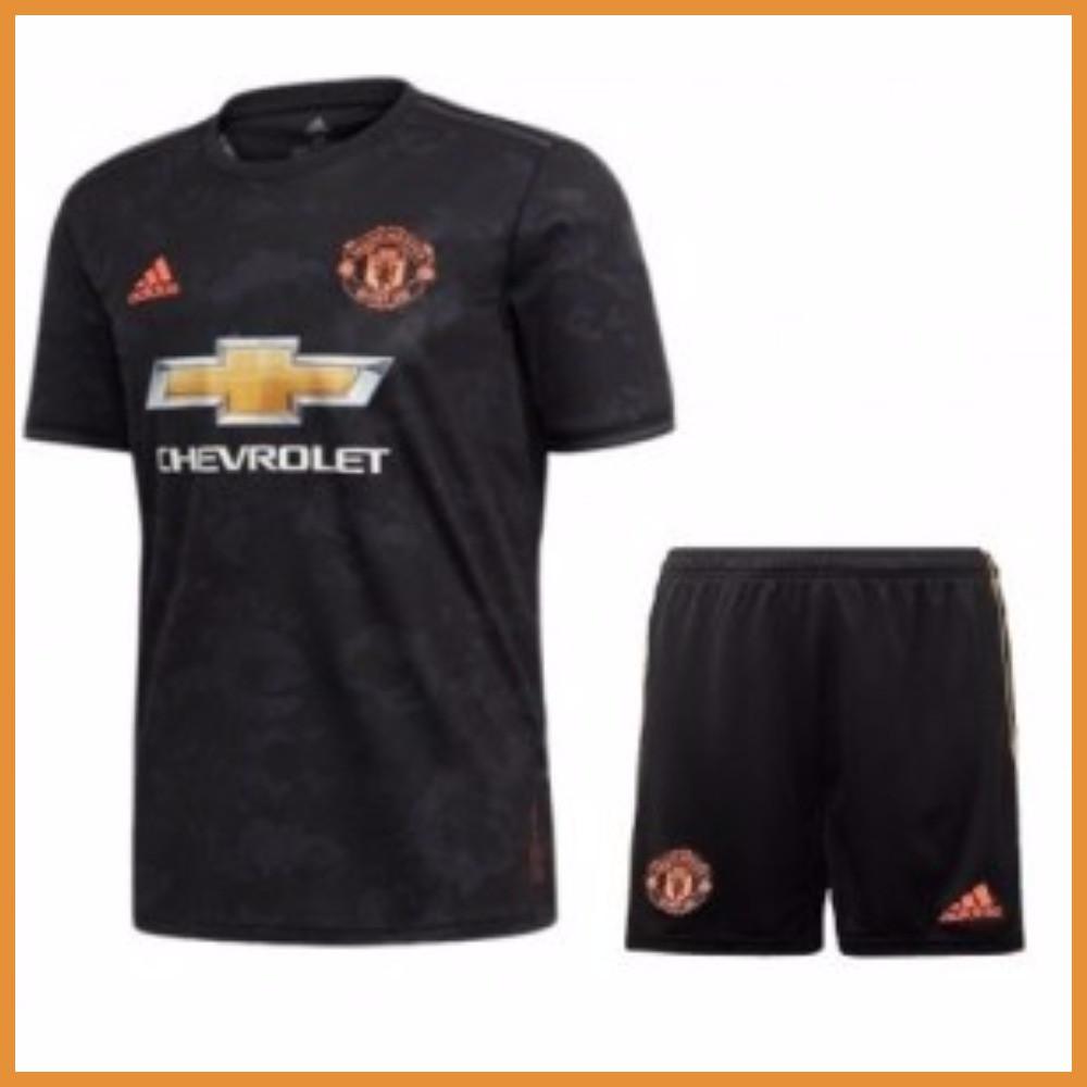 Футбольная форма Манчестер Юнайтед (Manchester United), резерв/черный сезон 19/20 XL