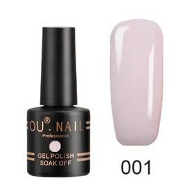 Гель-лак Ou Nail №001, 8 ml