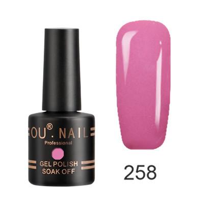 Гель-лак Ou Nail №258, 8 ml