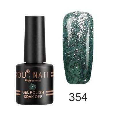 Гель-лак Ou Nail №354, 8 ml, фото 2