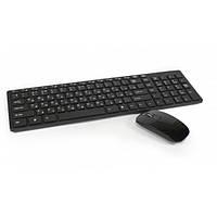 Беспроводный комплект (клавиатура и мышка) WIRELESS K06 Black, фото 1