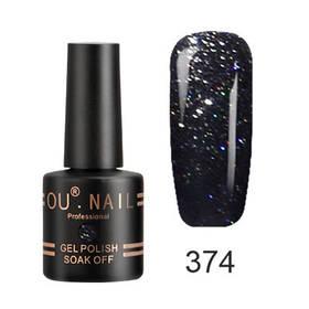 Гель-лак Ou Nail №374, 8 ml