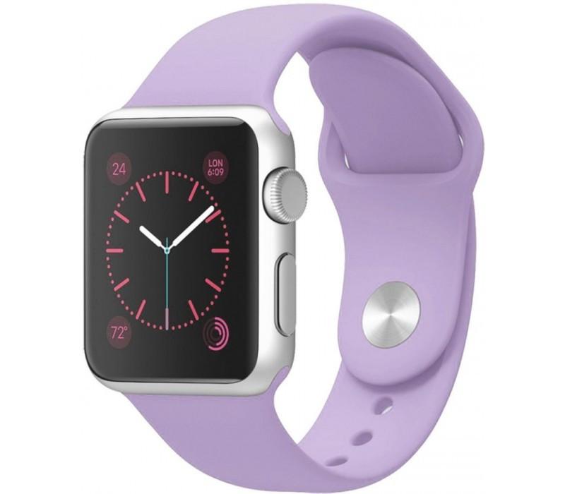 Ремешок для Apple Watch Silicone Band 38 mm Violet
