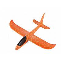 Метательный Самолёт планер UTM Explosion Большой размах крыльев 49 см Orange, фото 1