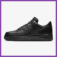 Женские кроссовки Nike Air Force Low Black