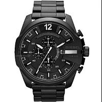 Мужские часы Diesel 10 Bar с железным ремешком Black