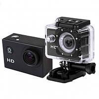 Видеокамера Экшн камера Action Camera D600 с боксом и креплениями, фото 1