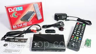 UClan B6 Full HD ресивер + бесплатная прошивка!