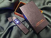 Электронная USB зажигалка BMW Черная