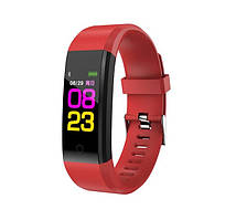 Фитнес-браслет с измерением пульса и давления UTM Smart Band B05 Красный