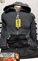 Спортивный костюм утепленный для подростка трехнитка начес  7, 8, 9, 10 лет