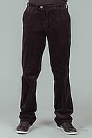 Коричневые мужские вельветовые джинсы, брюки размер стандарт, батал и плюссайз. Размер XS-10XL