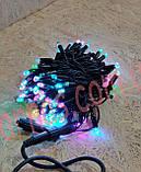 Светодиодная гирлянда (10m-2 RGB), фото 6