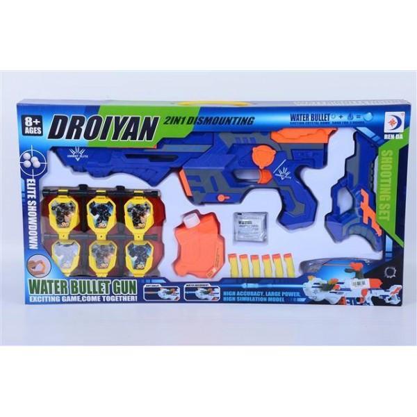 Набор Космический Бластер Droiyan Water Bullet Gun