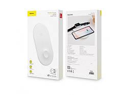 Беспроводная зарядка Baseus Wireless Charger Smart 2 в 1
