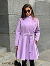 Женское кашемировое Пальто с расклешенным низом 17pal238, фото 2