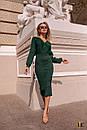 Платье - футляр длиной миди с длинным рукавом на манжете 31pal240, фото 3