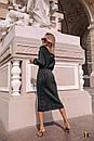 Платье - футляр длиной миди с длинным рукавом на манжете 31pal240, фото 4