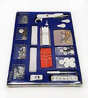 F1-00165, Набор для шитья, швейный набор, 127 предметов  в коробке , , черный-металлик