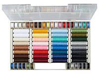 F1-00156, Набор ниток для шитья 64 шт. разных цветов, , разноцветный