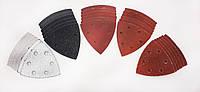Набор треугольной  шлифовочной наждачной  бумаги Parkside PDSZ  30 A1, 30 шт