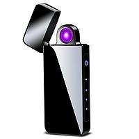 Электроимпульсная USB зажигалка Portal black 097_1