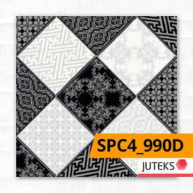 Линолеум ПВХ Juteks Strong Plus CHESS 4_990D; 2.4/0.6 - полукоммерческий. Купить в Киеве.