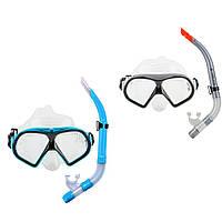 Набор для плавания маска с трубкой Dolvor M9510P+SN52P