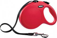 Поводок-рулетка Flexi New Classic L 5 м для собак до 50 кг, лента