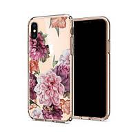 Накладка для iPhone X/iPhone XS Spigen Rose Floral Rose