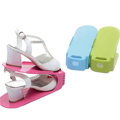 Двойные подставки для обуви Double Shoe Racks LY-500, Органайзер для обуви  - Комплект 4 шт, цена 210 грн., купить в Одессе — Prom.ua (ID#1059528306)