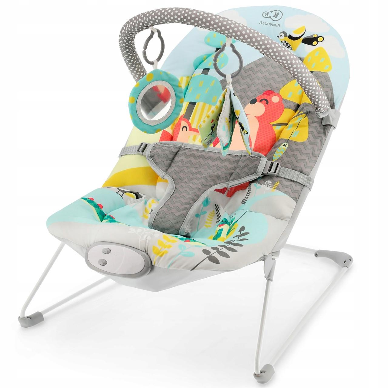 Кресло-качалка KinderKraft Milyfun