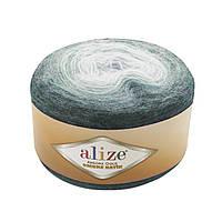 Зимняя пряжа(20% шерсть, 80% акрил) Angora Gold Ombre Batik 7230