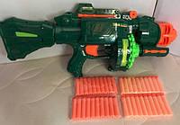 Детский игрушечный пулемет Штурм Болтер бластер Limo Toy 7002 мягкие пули, аналог Nerf Нерф