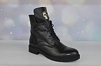 Кожаные женские зимние ботинки Evromoda
