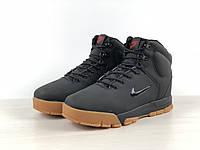 """Мужские зимние кроссовки Nike """"Black"""" ( В стиле Найк )"""
