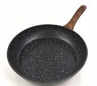Сковородка Benson BN-526 28 см с мраморным покрытием