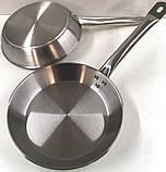Сковородка Benson BN-638 30 см из нержавеющей стали, фото 2
