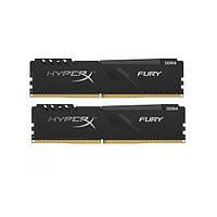 Оперативна память Kingston 16 GB (2x8GB) DDR4 2666 MHz HyperX Fury Black (HX426C16FB3K2/16)