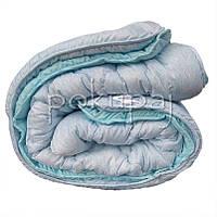 Одеяло зима лето четыре сезона 150*210 полуторное односпальное светлое голубое