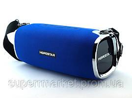 Hopestar A6 34W Boombox SuperBass, портативная колонка с MP3, синяя, фото 3