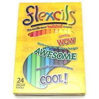 Гибкие карандаши Flexcils 24 шт Разноцветный FLE124-07, КОД: 712098