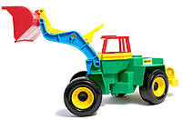 Детский трактор Экскаватор погрузчик серии Color Cars Wader (30210, 39212)