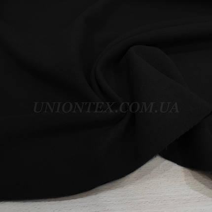 Ткань пальтовая кашемир черный, фото 2