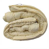 Одеяло зима лето четыре сезона 150*210 полуторное односпальное молочное