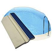 Плитка керамічна бордюрна з поручнем Aquaviva AV3-1/YC3-1 для басейну