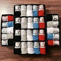Подарочный набор мужского белья Calvin Klein Кельвин Кляйн боксеры 5 шт реплика + носки в подарок